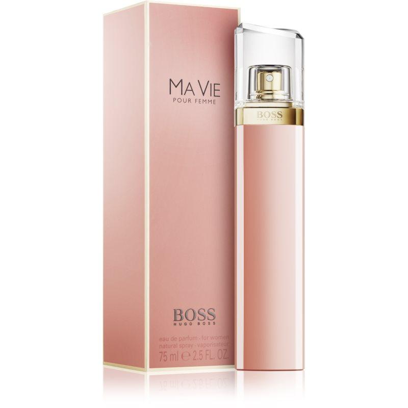 hugo boss boss ma vie eau de parfum para mujer 75 ml. Black Bedroom Furniture Sets. Home Design Ideas