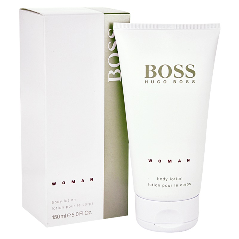 hugo boss boss woman k rperlotion f r damen 150 ml. Black Bedroom Furniture Sets. Home Design Ideas
