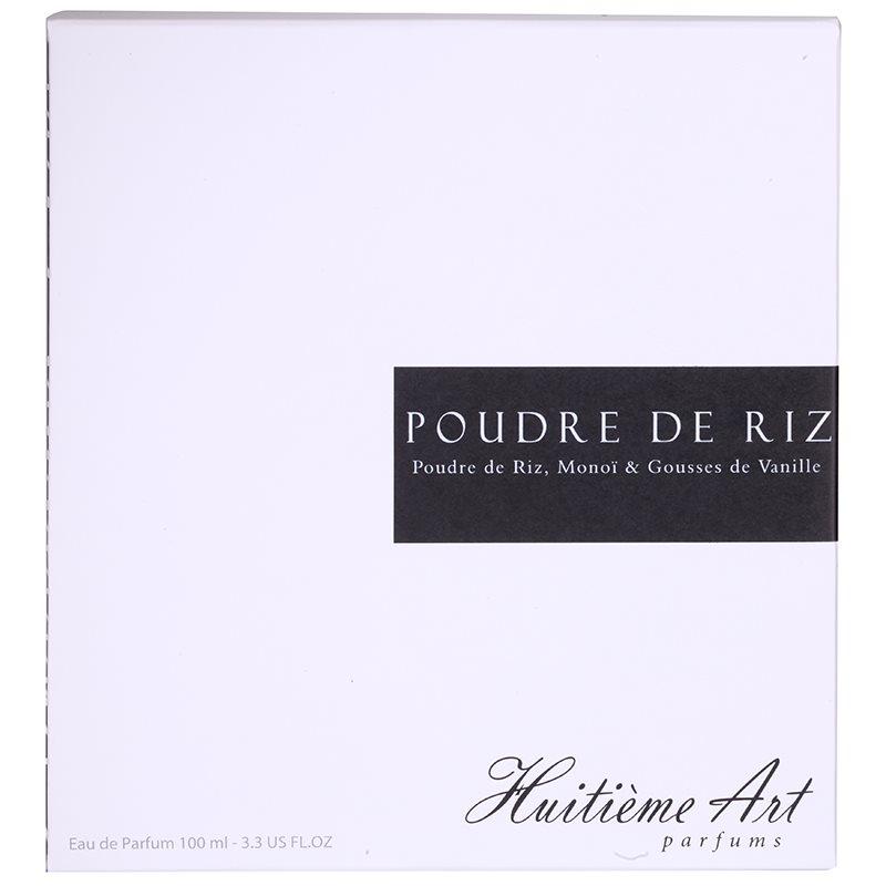 Huitieme art parfums poudre de riz eau de parfum f r for Poudre de riz cuisine
