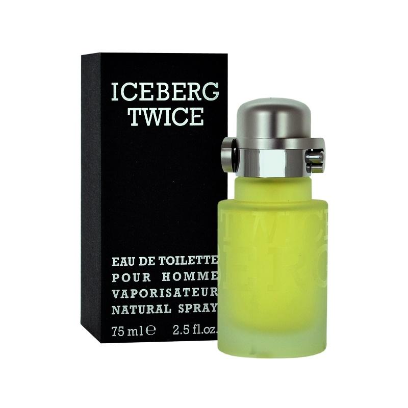 iceberg twice pour homme eau de toilette pour homme 125 ml. Black Bedroom Furniture Sets. Home Design Ideas