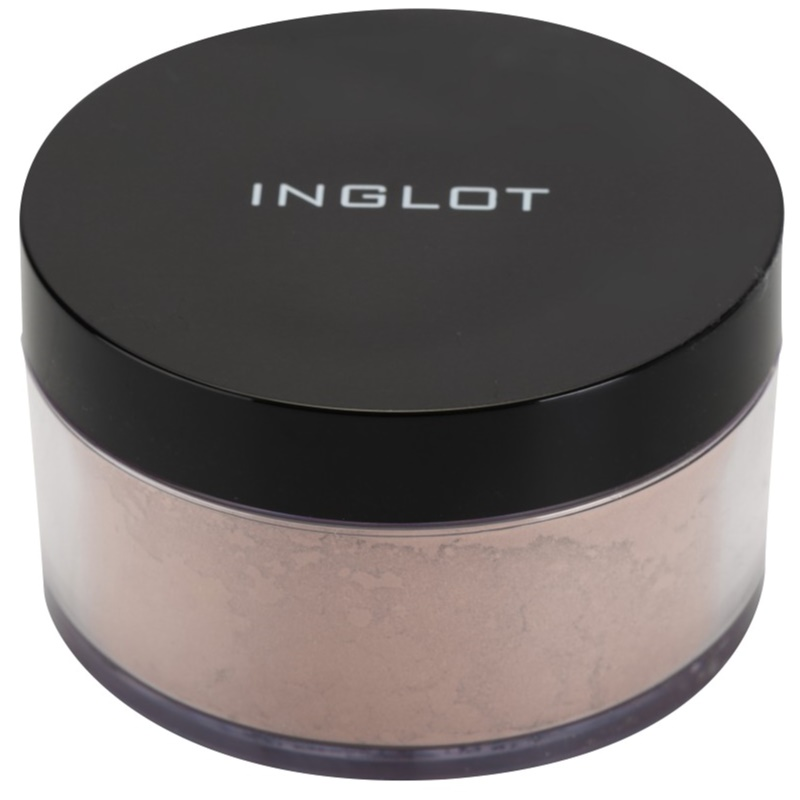 inglot basic poudre libre matifiante pour une fixation. Black Bedroom Furniture Sets. Home Design Ideas