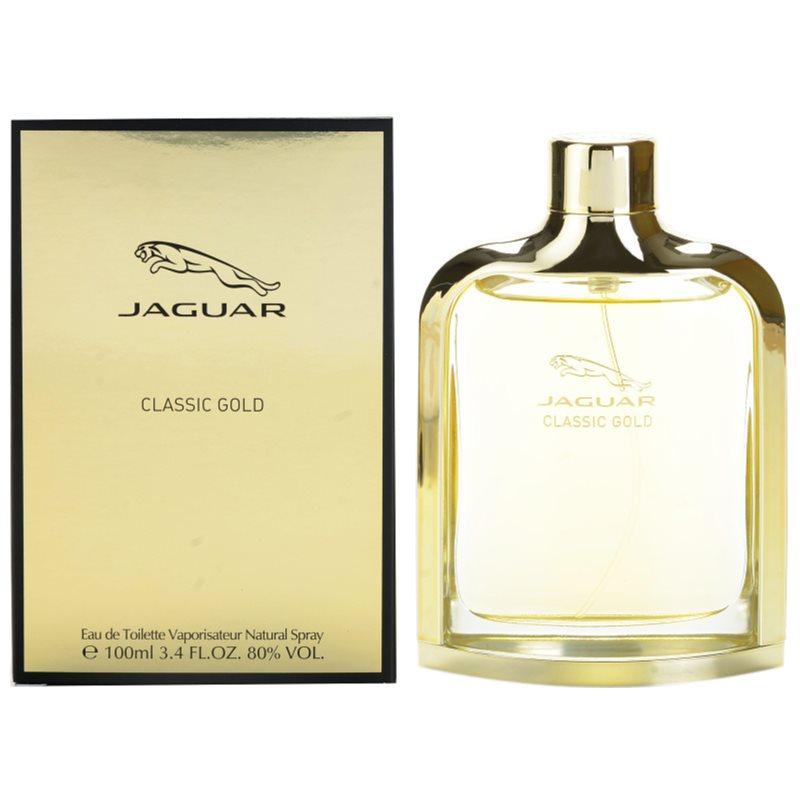 jaguar classic gold eau de toilette pour homme 100 ml. Black Bedroom Furniture Sets. Home Design Ideas