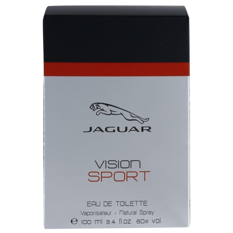 jaguar vision sport eau de toilette for men 100 ml. Black Bedroom Furniture Sets. Home Design Ideas