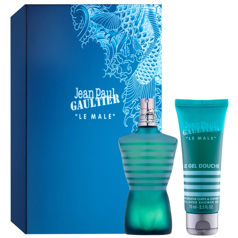 Jean paul gaultier le male coffret cadeau i - Gel douche jean paul gaultier le male ...
