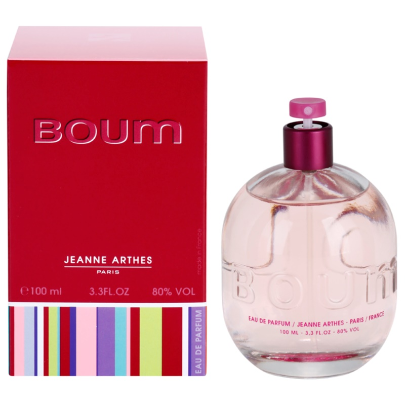 jeanne arthes boum eau de parfum pour femme 100 ml. Black Bedroom Furniture Sets. Home Design Ideas