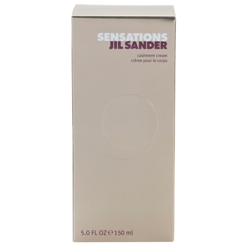 jil sander sensations body cream for women 150 ml. Black Bedroom Furniture Sets. Home Design Ideas