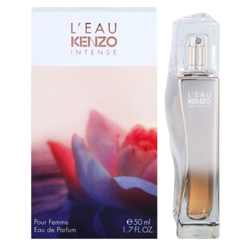 kenzo l eau kenzo intense pour femme eau de parfum for women 100 ml. Black Bedroom Furniture Sets. Home Design Ideas