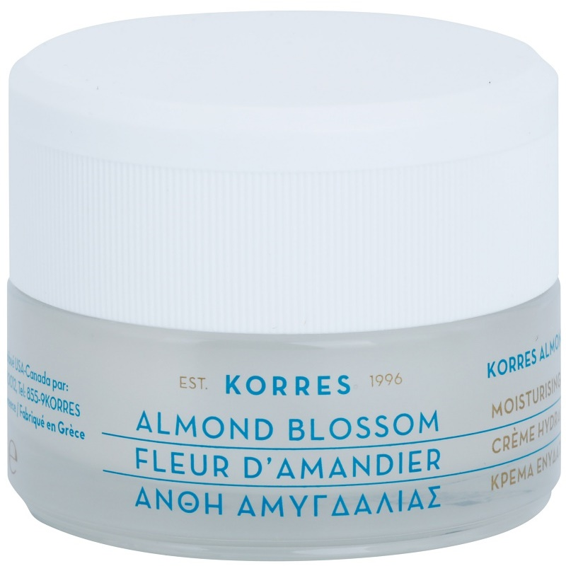 korres face almond blossom cr me hydratante pour peaux mixtes et grasses. Black Bedroom Furniture Sets. Home Design Ideas