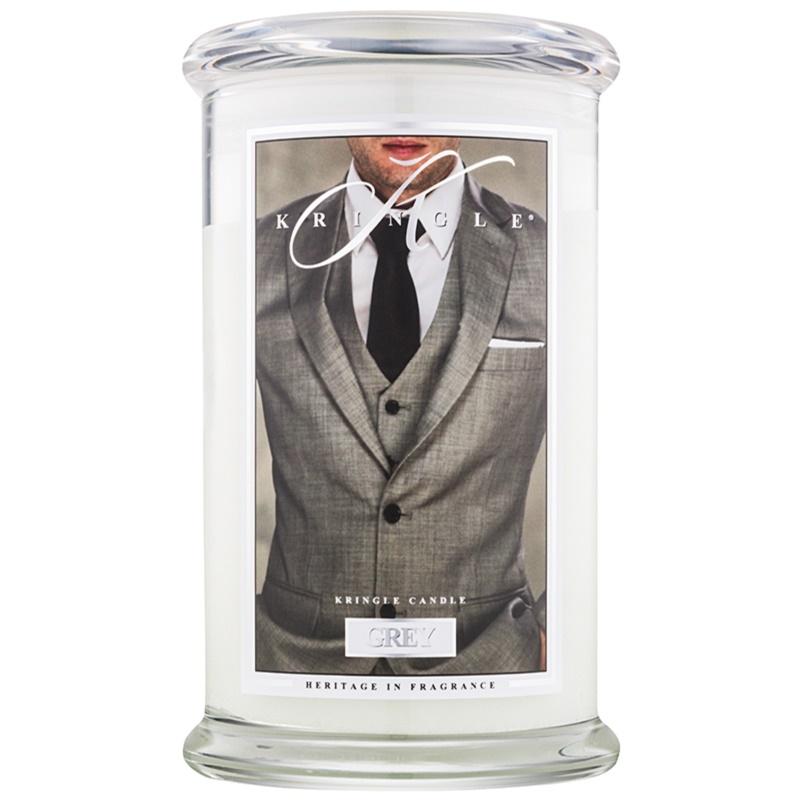 kringle candle grey duftkerze 624 g. Black Bedroom Furniture Sets. Home Design Ideas