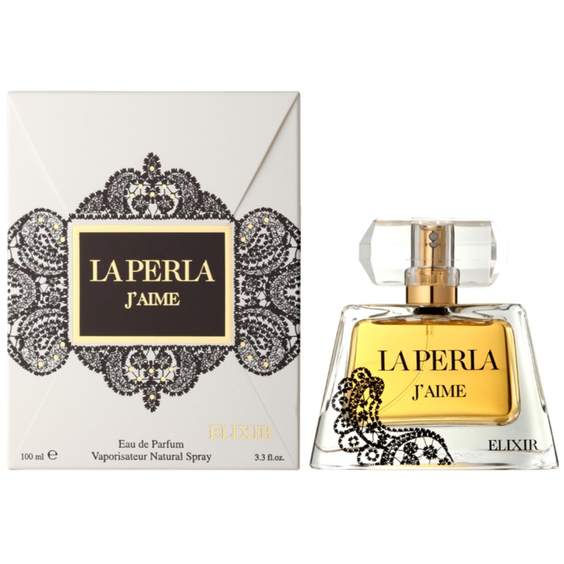 la perla j 39 aime elixir eau de parfum f r damen 100 ml. Black Bedroom Furniture Sets. Home Design Ideas