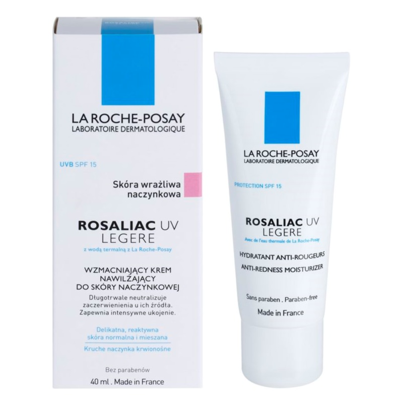 la roche posay rosaliac uv legere soothing cream for. Black Bedroom Furniture Sets. Home Design Ideas