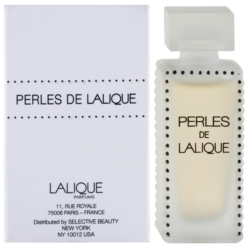 lalique perles de lalique eau de parfum f r damen 100 ml. Black Bedroom Furniture Sets. Home Design Ideas