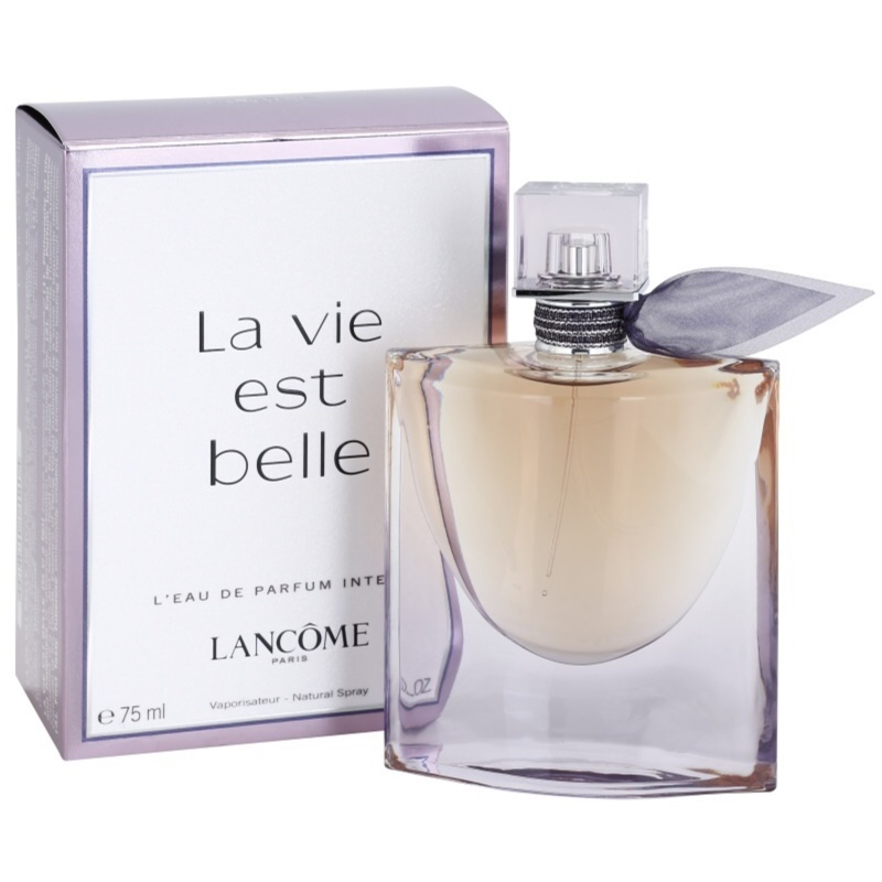 lanc me la vie est belle intense eau de parfum pour femme 75 ml. Black Bedroom Furniture Sets. Home Design Ideas