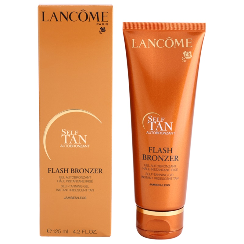 lanc me flash bronzer gel auto bronzant pieds. Black Bedroom Furniture Sets. Home Design Ideas