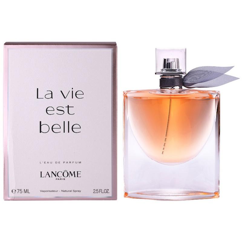lanc me la vie est belle eau de parfum for women 75 ml. Black Bedroom Furniture Sets. Home Design Ideas
