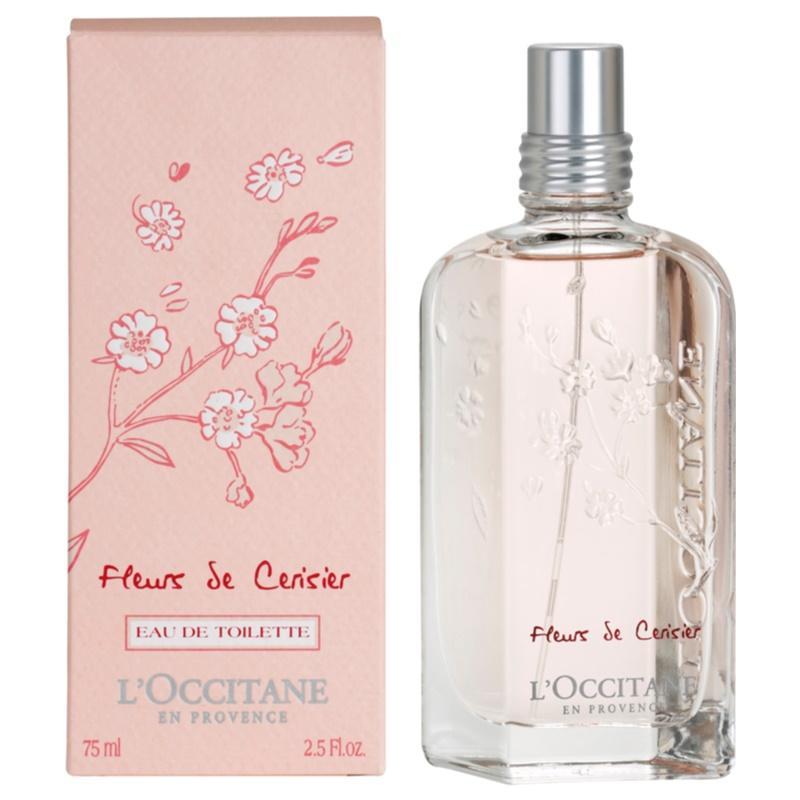 L 39 occitane fleurs de cerisier eau de toilette pour femme - L eau des toilettes remonte ...