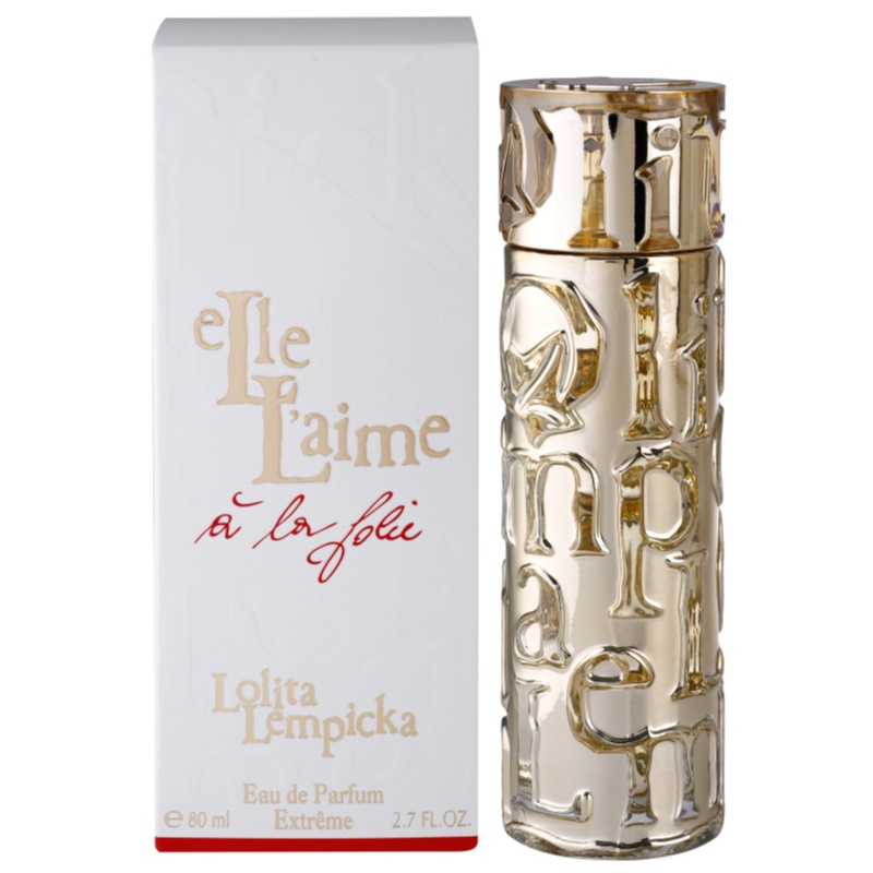 lolita lempicka elle l 39 aime a la folie eau de parfum pentru femei 80 ml. Black Bedroom Furniture Sets. Home Design Ideas