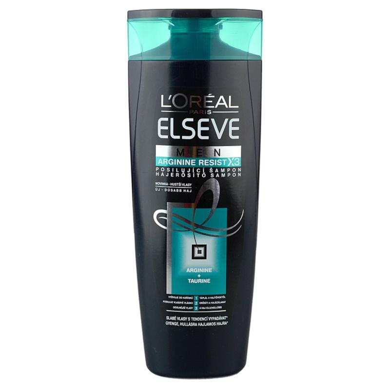l or al paris elseve arginine resist x3 shampoing fortifiant pour homme. Black Bedroom Furniture Sets. Home Design Ideas