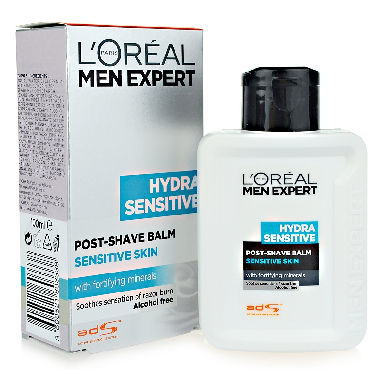l 39 or al paris men expert hydra sensitive post shave balm. Black Bedroom Furniture Sets. Home Design Ideas
