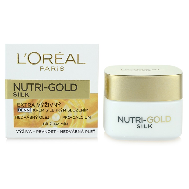 L'ORÉAL PARIS NUTRI-GOLD SILK Day Cream | notino.co.uk