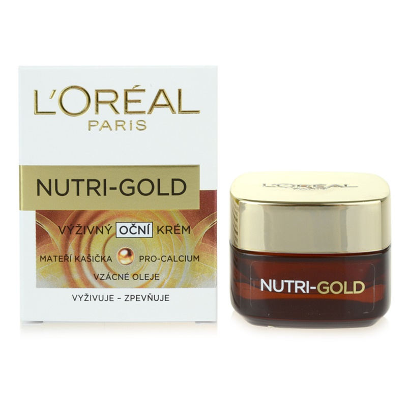 L'ORÉAL PARIS NUTRI-GOLD Nourishing Eye Cream | notino.co.uk
