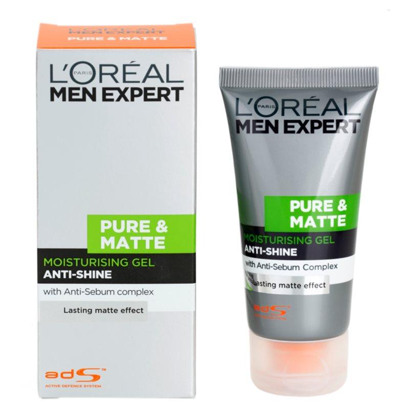 L'Oréal Paris Men Expert Pure & Matte, gel hidratante para ...