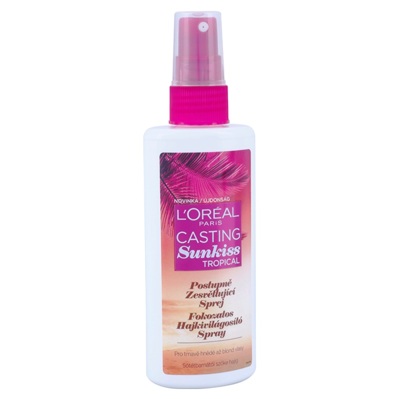 L'Oréal Paris Casting Sunkiss Tropical, Lightening Spray ...