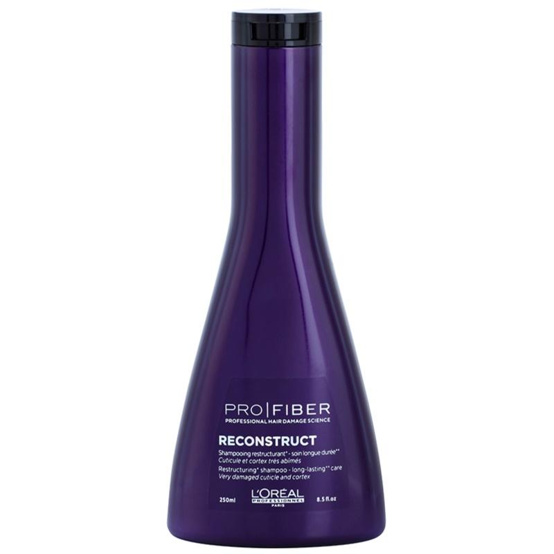 l 39 or al professionnel pro fiber reconstruct shampoing r g n rant pour cheveux tr s secs et. Black Bedroom Furniture Sets. Home Design Ideas
