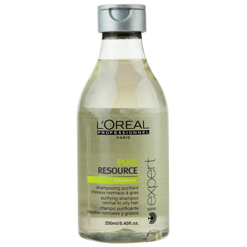 l 39 or al professionnel s rie expert pure resource shampoing pour cheveux gras. Black Bedroom Furniture Sets. Home Design Ideas
