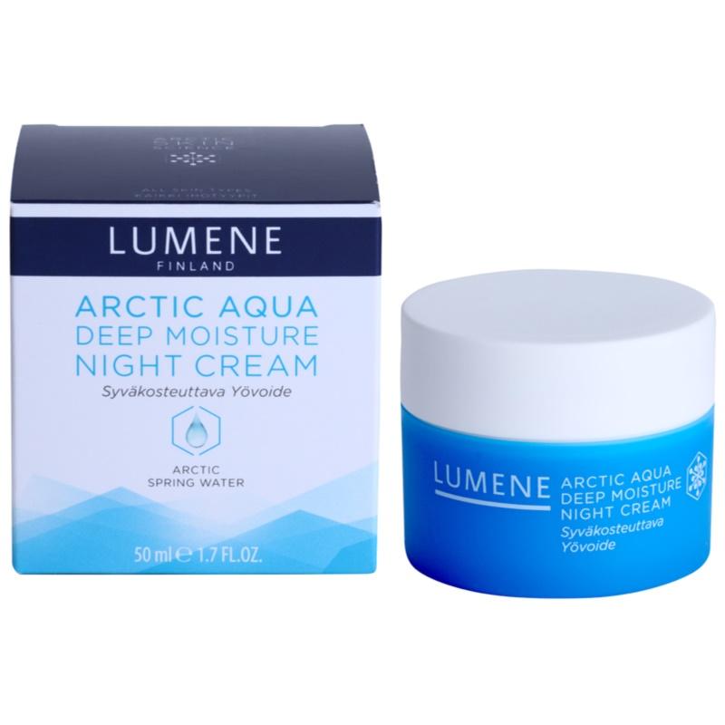 Lumene Arctic Aqua, Deep Moisturizing Night Cream For ...