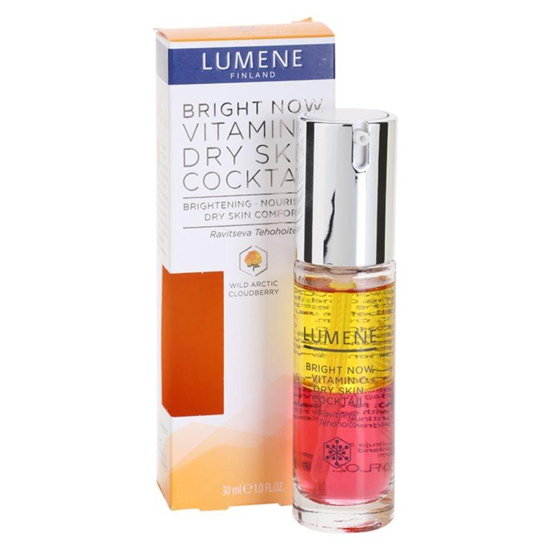 Lumene Bright Now Vitamin C+, Nourishing Cocktail For Dry ...
