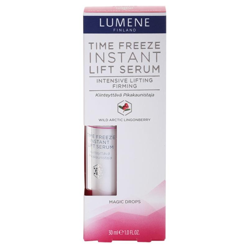 LUMENE TIME FREEZE Facial Serum With Smoothing Effect ...
