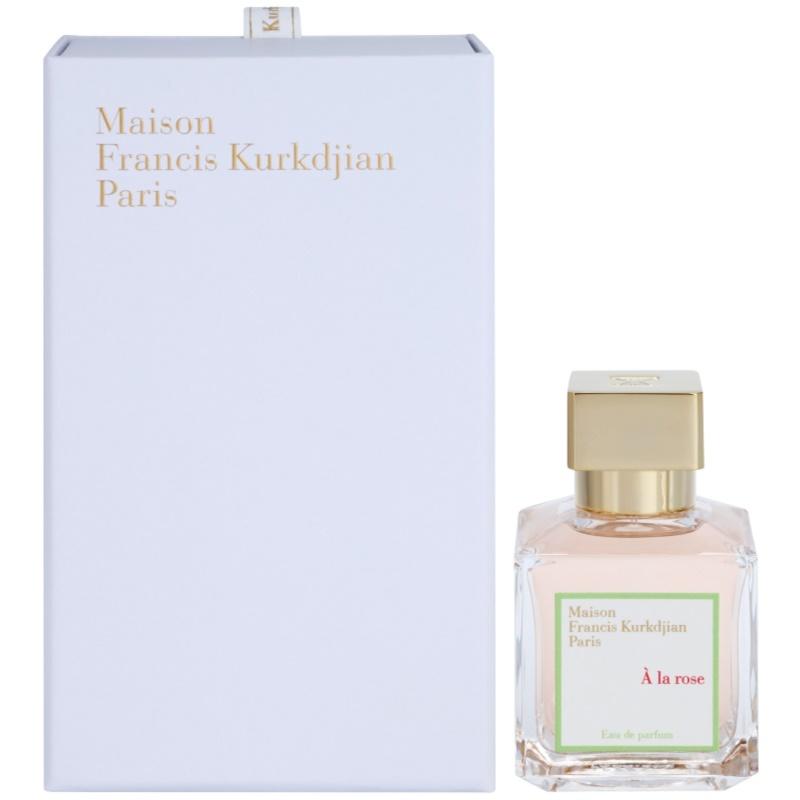 Maison francis kurkdjian a la rose eau de parfum pentru for A la rose maison francis kurkdjian