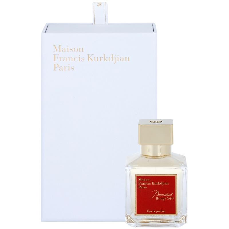 maison francis kurkdjian baccarat rouge 540 eau de parfum unisex 70 ml. Black Bedroom Furniture Sets. Home Design Ideas
