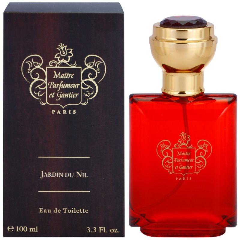 Maitre parfumeur et gantier jardin du nil eau de toilette for Jardin du nil red wine