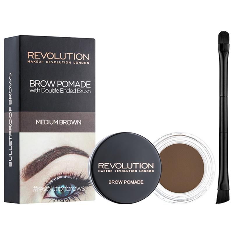 Картинки по запросу makeup revolution brow pomade medium brown