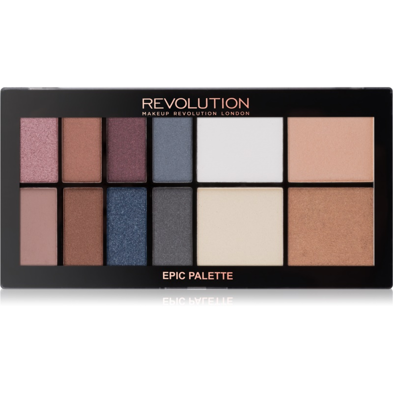 makeup revolution epic nights lidschatten kontourpalette. Black Bedroom Furniture Sets. Home Design Ideas