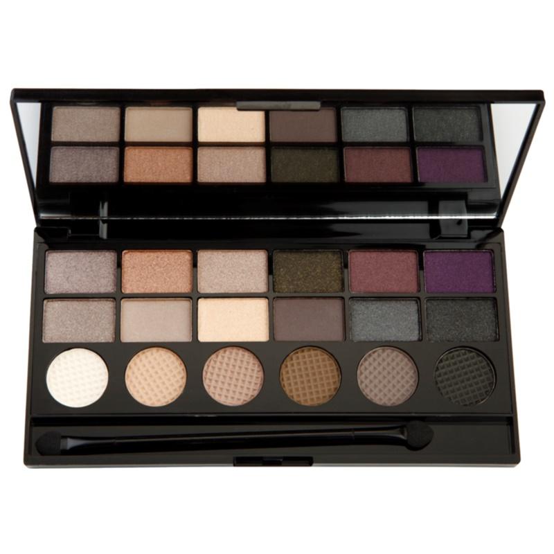 makeup revolution hard day palette mit lidschatten. Black Bedroom Furniture Sets. Home Design Ideas