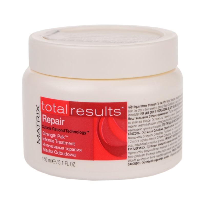 matrix total results repair masque pour cheveux ab m s. Black Bedroom Furniture Sets. Home Design Ideas