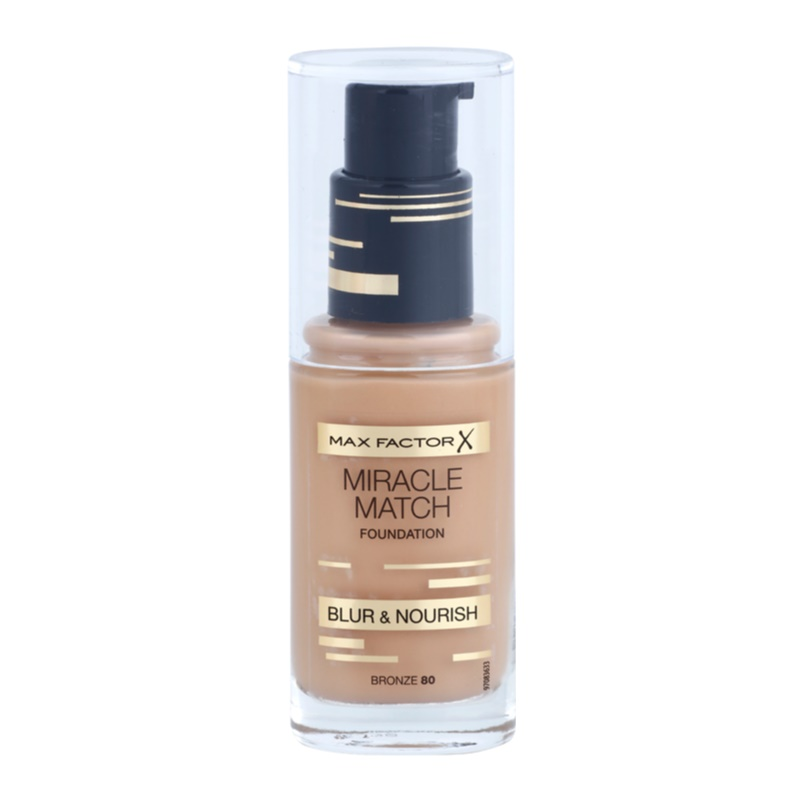max factor miracle match liquid foundation with moisturizing effect. Black Bedroom Furniture Sets. Home Design Ideas