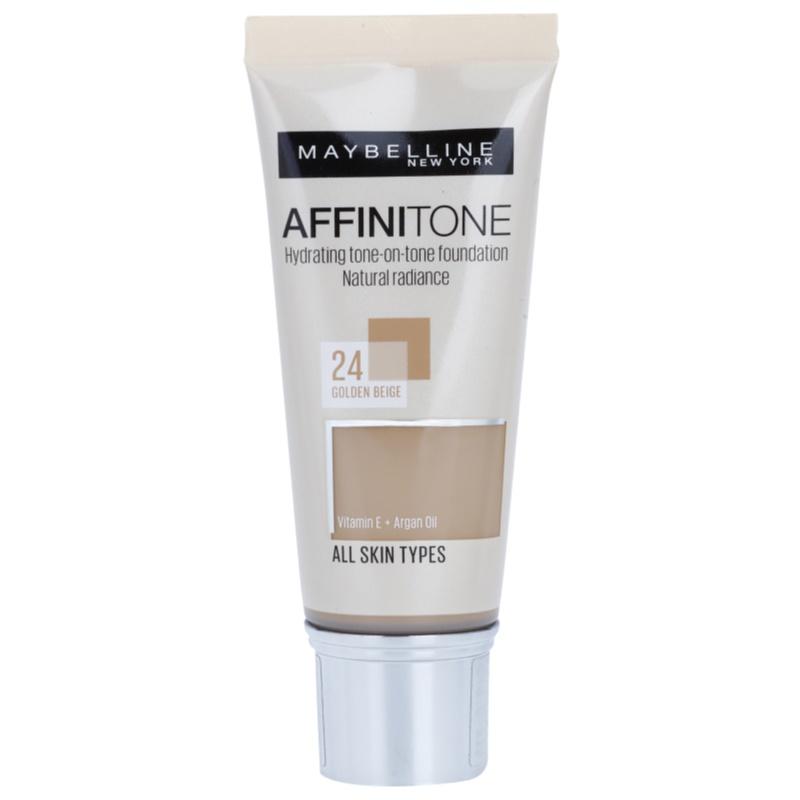 maybelline affinitone color chart cold tones: Maybelline affinitone hydrating foundation notino co uk