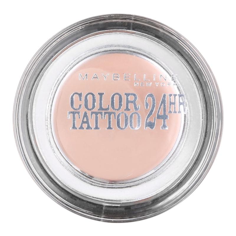 Maybelline eyestudio color tattoo 24 hr kr mov o n for Maybelline color tattoo creme de nude