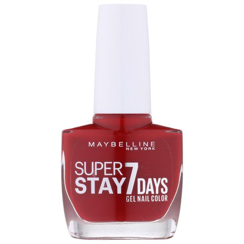 MAYBELLINE FOREVER STRONG SUPER STAY 7 DAYS esmalte de uñas   notino.es