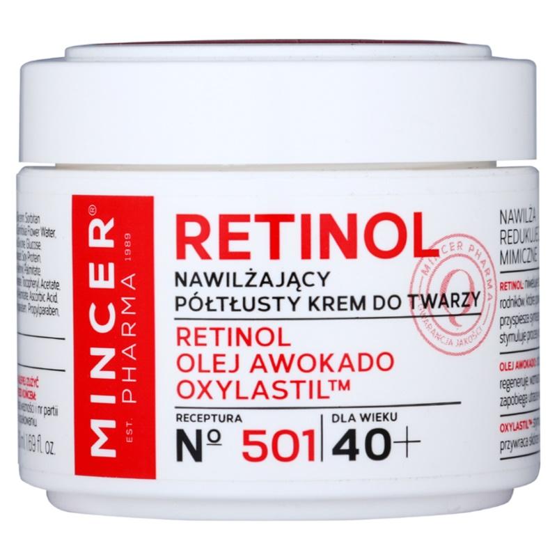 mincer pharma retinol n 500 cr me hydratante anti rides 40. Black Bedroom Furniture Sets. Home Design Ideas