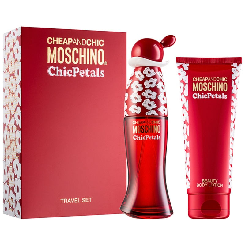 Moschino cheap chic chic petals coffret cadeau iv Inexpensive chic