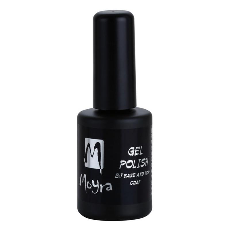 Moyra Gel Polish, esmalte base y esmalte capa superior para uñas de ...