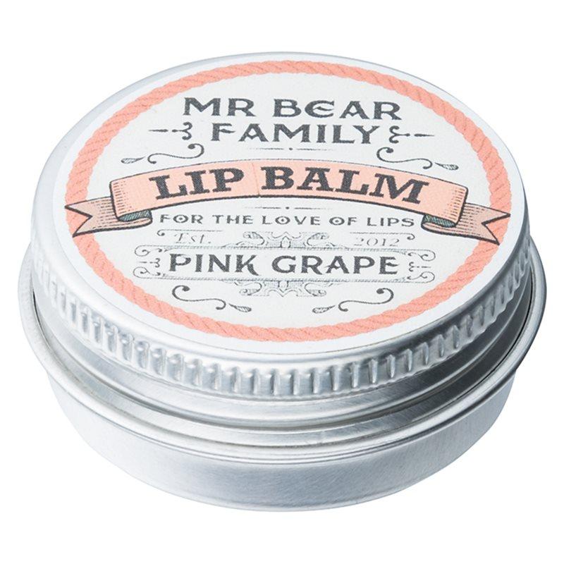 mr bear family pink grape baume l vres pour homme. Black Bedroom Furniture Sets. Home Design Ideas