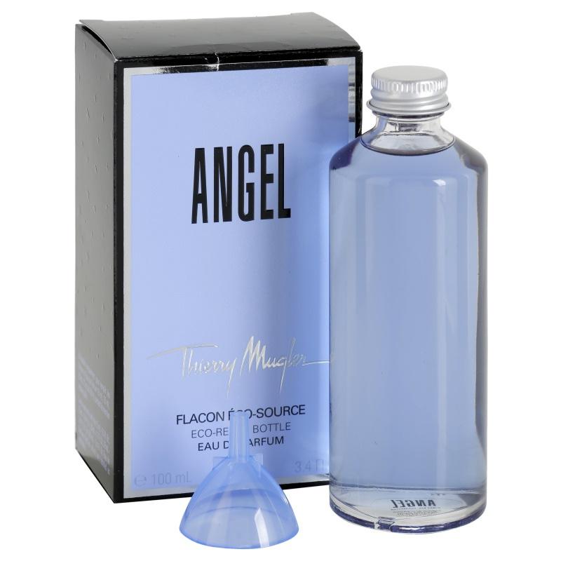 mugler angel angel eau de parfum for women 100 ml refill. Black Bedroom Furniture Sets. Home Design Ideas