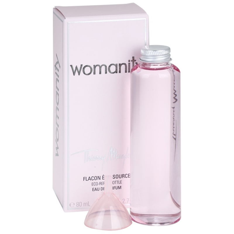 Mugler Perfume Refill: Mugler Womanity, Eau De Parfum For Women 80 Ml Refill