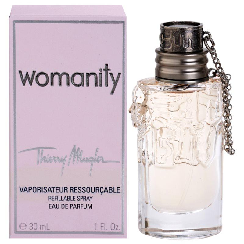 Womanity Perfume Refill: Mugler Womanity, Eau De Parfum For Women 80 Ml Refillable